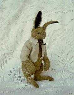 Clancy, One Of a Kind  Artist Rabbit from Aerlinn Bears