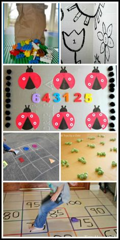 Train Up a Child: Math and Numbers. Great activities. Love the spring pattern block templates!