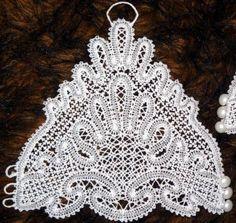 Advanced Embroidery Designs - FSL Battenberg Bridal Fingerless Lace Gloves III