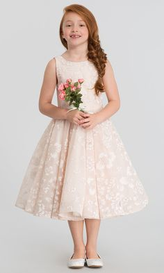 3aae4dbb26f La Petite by Hayley Paige Eloise Flower Girl Dress