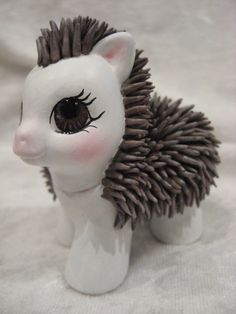 Baby hedgehog MLP custom, by assassin_kitty. Squee!