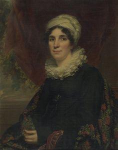 Portrait of Mrs. James K. Bogert, Jr., 1819. Artists: Samuel Lovett Waldo, American, 1783-1861; William Jewett, American, 1792-1874. Medium: Oil on canvas. Brooklyn Museum.