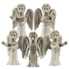Doctor Who Character Building Weeping Angel Multi-Pack Micro Figures
