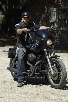 Opinion you Charlie hunnam naked on a harley brilliant idea