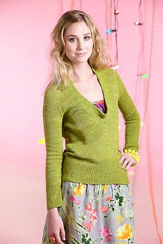 Lettuce Pullover by Hannah Fettig. This would be a good sweater for work.