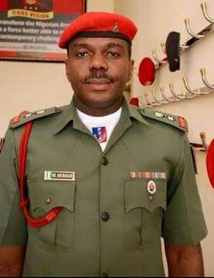 Collins Aigbogun: Meet President Buhari's ADC