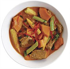 Thai Red Curry with Beef and Kabocha Squash