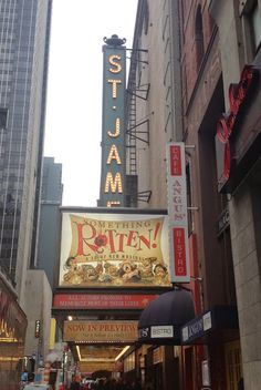 Something Rotten at the St. James theater in New York City