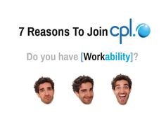 Looking for a new #recruitment role ?  7 reasons to join us at Cpl (but there are many more) www.cpl.ie
