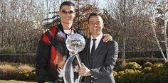 Cristiano Ronaldo and Jorge Mendes