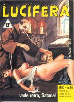 Cover for Lucifera (Elvifrance, 1972 series) #76