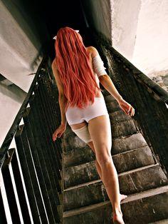Lucy/Nyu - Elfen Lied Cosplay