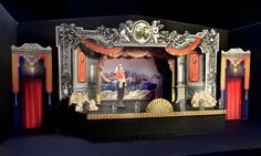 Pirates of Penzance. Rocky Mountain Repertory Theater. Model. Set design by Kent Homchick.