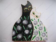 Получилась черно-белая коллекция котов фото 1