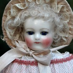 "Antique Early 14"" China French Fashion Doll from signaturedolls on Ruby Lane"