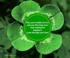 Lá fhéile Pádraig sona dhuit! or Happy St. Patrick's Day!
