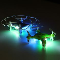 Eachine H7 2.4G 6-Axis LED Mini RC Quadcopter with Protective Cover Sale-Banggood.com