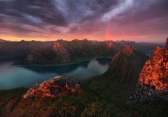 The island Senja, Norway