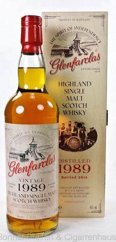 Glenfarclas #Whisky Vintage 1989   Scotland's Distilleries (Whisky Ma…