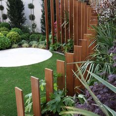 Latest Landscaping Projects in Dorset & Hampshire by Redcliffe Landscape Gardeners – Home decoration ideas and garde ideas Back Garden Design, Garden Design Plans, Modern Garden Design, Garden Landscape Design, Fence Design, Modern Design, Terrace Design, Backyard Landscaping, Modern Landscaping