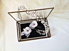 Accesoriu de păr mireasa cu perle -Coroniță mireasa cu perle Hair Accessories, Corona, Hair Accessory