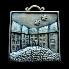 Pottery Houses, Wood Blocks, Terra, Art Dolls, Coin Purse, Clay, Top, Home, Clays