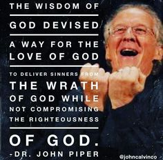 Cracking the Insidious Code Part IV: John Piper's Self-Absorbed God