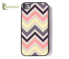 "iPhone 4 Case - Chevron ""Quadruply Soft"" -- cover for iPhone 4 and iPhone 4s. $16.99, via Etsy."
