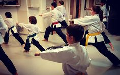 La disciplina y el entrenamiento son las bases para todo futuro buen guerrero.