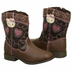 Hello Kitty Kids' Cowgirl Kitty Toddler Boot - for bella These would be cute if the didn't have the kitty on them!