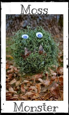 Halloween Moss Monster