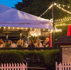 Restaurants In New Hope Pennsylvania By Newhoats See More Logan Inn Patio At Dusk