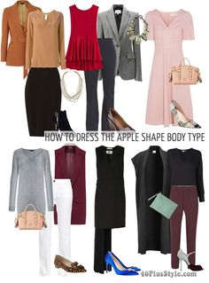 how to dress apple body shape | 40plusstyle.com