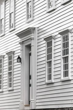 Gorgeous All White Colonial with Plank Frame Windows - Birthplace of Thoreau