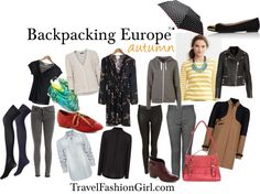 The Only Backpacking Packing List for Europe You'll Ever Need! Awesome finally a direct list of things I need to buy :)