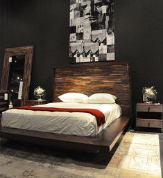 Headboard - Reclaimed Platform Bed