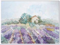 watercolor by Lucia Viola