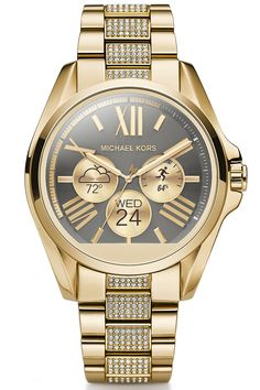 Smartwatch  Michael Kors Access watch, available Fall 2016 on michaelkors.com.   Courtesy Brand