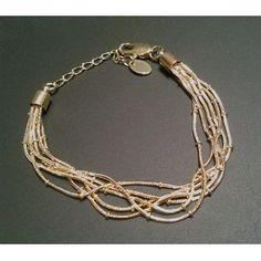 Браслет из тонких цепочек, $11.04 Jewerly, Watches, Bracelets, Rings, Gold, Products, Jewlery, Bijoux, Schmuck
