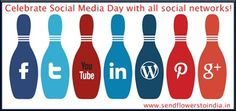 Celebrate #Socialmedia day and be a part of all the social networks...