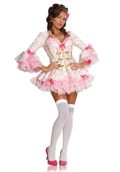 Pink Lace Marie Antoinette Costume