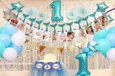 Mermaid Photo Banner, Sweet Heart First Birthday Justborn To. First Birthday Girl Mermaid, Girl Birthday, Birthday Cake, Mermaid Photos, Photo Banner, First Birthdays, Sweet, Heart, Ebay