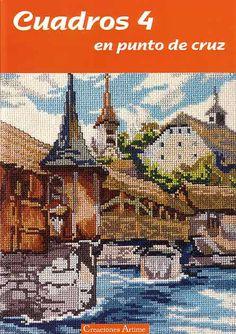 (1) Gallery.ru / Фото #1 - Cuadros 04 - tymannost Cross Stitch Magazines, Cross Stitch Books, Cross Stitch Designs, Cross Stitch Patterns, Cross Stitching, Cross Stitch Embroidery, Cross Stitch Landscape, Cross Stitch House, Le Point