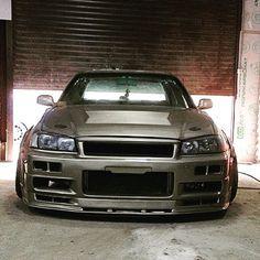 Skyline Gtr R34, Nissan Skyline, My Dream Car, Dream Cars, Import Cars, Japanese Cars, Jdm Cars, Mazda, Subaru