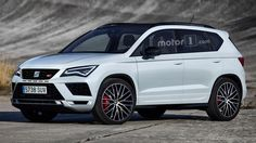 SEAT Ateca Cupra render >>> Seriously being considered, the 290-hp SUV could come late 2017.