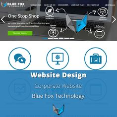 We thank our hard working Team for putting together our beautiful new #website www.bluefoxtechnology.com #bluefoxtech