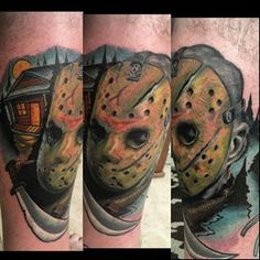 Jason voorhees tattoo from the otherday