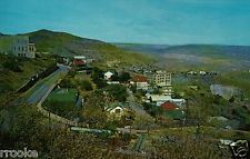 Entering JEROME, Arizona AZ Town View Vintage Postcard