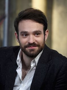 """Charlie Cox of Netflix Original Series """"Marvel's Daredevil"""" attends the AOL Build Speakers Series at AOL Studios In New York on March 2016 in New York City. Daredevil Matt Murdock, Marvel's Daredevil, Daredevil Netflix Cast, Avatar, Netflix Original Series, Its A Mans World, Marvel Series, Netflix Originals, Man Crush"""