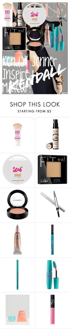"""Kendall Jenner Inspired Makeup! ♡"" by oroartye-1 on Polyvore featuring beauty, Maybelline, Benefit, MAC Cosmetics, La Prairie, Urban Decay, L'Oréal Paris, NYX and NARS Cosmetics"
